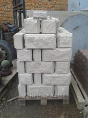 Блоки (Шлакоблоки, Декоративні вібропресовані рвані блоки)