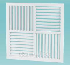 Решетка вентиляционная пластиковая Vents НК