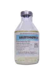 Analgofarm of 50% 50 ml