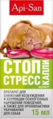 Stop stres for dogs of 15 ml