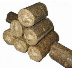 Fuel briquette of Nestro.