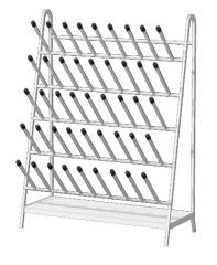 Drying for a laboratory glassware