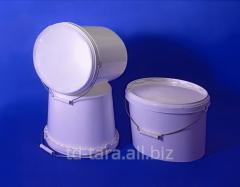 Bucket plastic (polypropylene) 3 l, oval