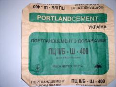 Bag paper valvate for cemen