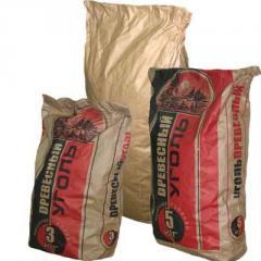 Bag paper under charcoal
