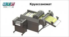 The equipment for production croissant -