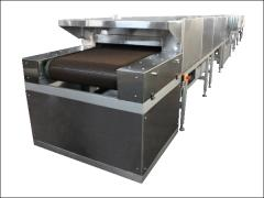 Tunnel furnaces for confectionery