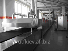 Equipment for baking of otsadny cookies