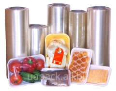 Film thermoshrinkable under products, bottles. For