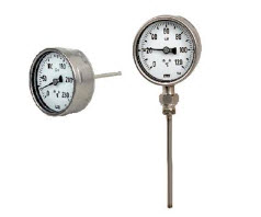 The thermometer the bimetallic showing A5500-100