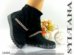 Ladies boots with fur code 12434