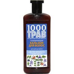 Тонизирующий Бальзам для жирных волос 1000 трав