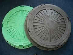 Polymeric hatches