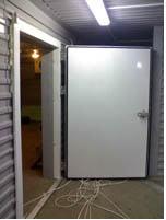 Двери холодильной камеры промышленные