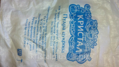 Icing sugar packing of 200 grams and weight 25 kg