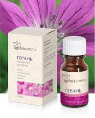 Geranium essential oil. Cell regeneration, removal