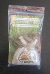 Natural fragrance of air - a sachet the Crimean