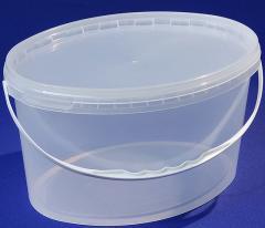 Bucket polypropylene oval 5,9l