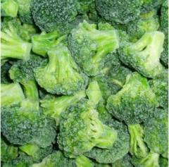 The cabbage of broccoli frozen