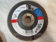 Circle petal face Bosch 125x22 P120