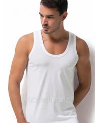 Men's knitted undershir