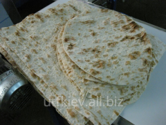 Workshop for production of unleavened wheat cake