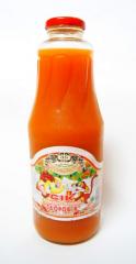 Сок морковно-яблочный Здоровье (1л. ТО)