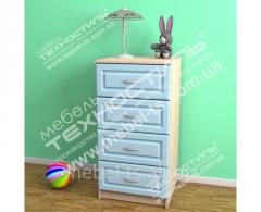 Комоды для детской комнаты и спальни КД-2 ЦВЕТ