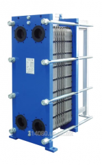 Lamellar Funke heat exchanger