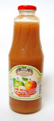 Apple juice with sugar and pulp of 1 l