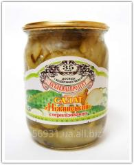 Salad Nezhinsky sterilized 0,5l