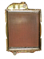 MTZ radiator aluminum 70U-1301010 alyum. Mat.