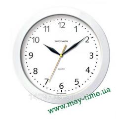 Wall clock of 11110114 Troyka white