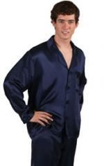 The pajamas is man's silk
