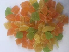 Candied fruits (cube mix, Thailand)