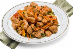 Soy meat in Korean