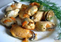 Mussels in Korean