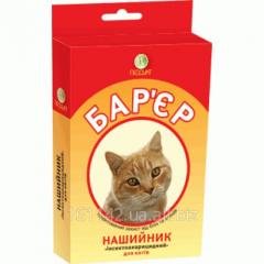 Ошейник от блох для кошек 35 см Барьер