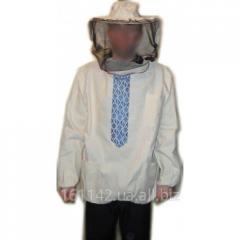 Куртка пчеловода ЛЁН двойная нить плотный