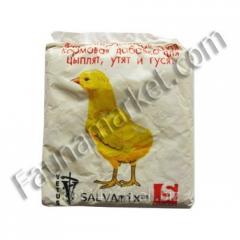 Премикс для утят и цыплят 0,2 кг Salva Mix