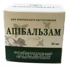 Апибальзам антибактериальный и успокаивающий 30 мл