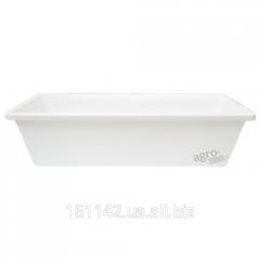Балконный ящик белый 100 см