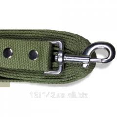 Поводок Эконом для собак брезент 30 мм ширина