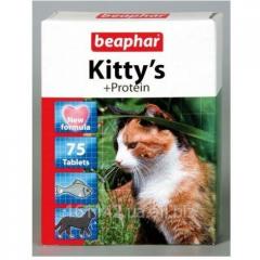 Витамины Beaphar Kitty's Протеин 75 таб