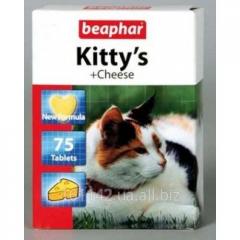 Витамины Beaphar Kitty's Сыр 75 таб
