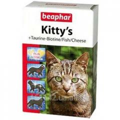 Витамины Beaphar Kitty's Таурин-Биотин 75 таб