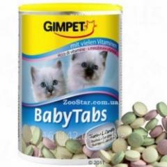 Витаминная добавка для котят 250 таб Gimpet Baby Tabs
