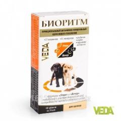 Витамины Биоритм для щенков 48 таб Veda