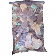Печенье для собак фигурные крокеты mix 950 г Lolo