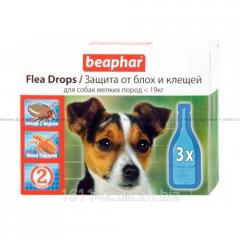Капли для собак мелких пород 3 шт Beaphar